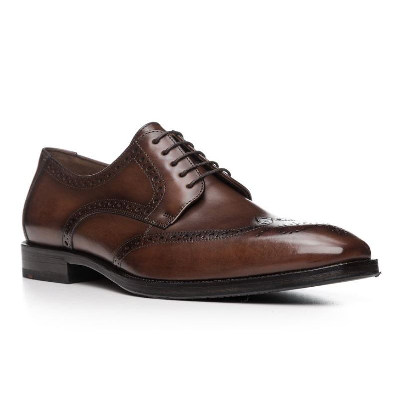 Lloyd Lucien Wingtip Shoes Brown Image