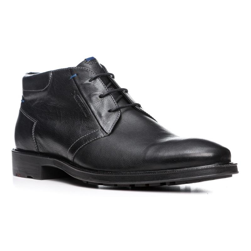 Lloyd Marik Pebble Grain Ankle Boots Black Image