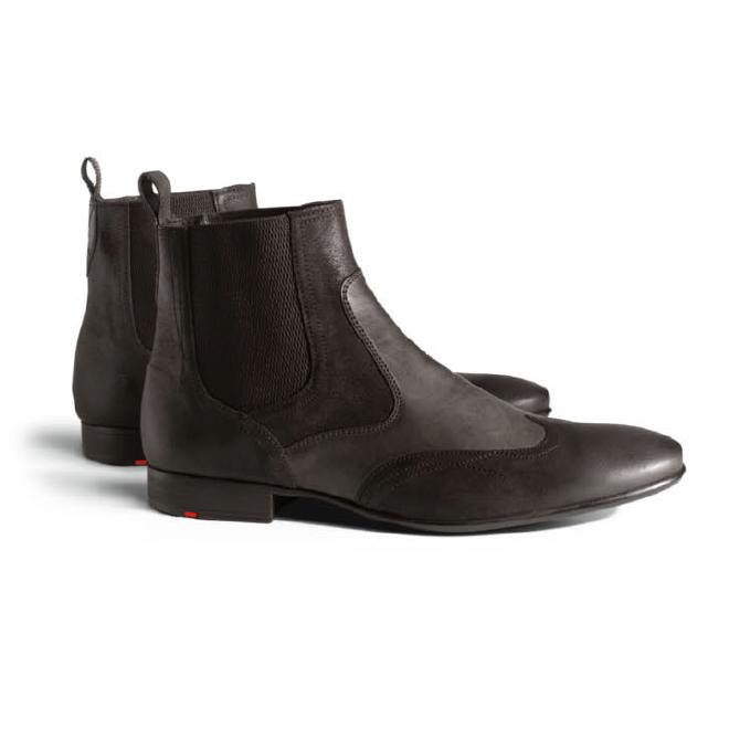 Lloyd Murphy Rustic Calfskin Boots TD Moro Image