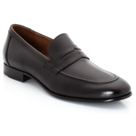 Lloyd Paxton Penny Loafers Black Image