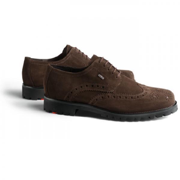 Lloyd Varas Suede Wingtip Gore-Tex Brogues TD Moro Image.  lloyd mens shoes logo logo. lloyd mens shoes logo logo 73332277ec17