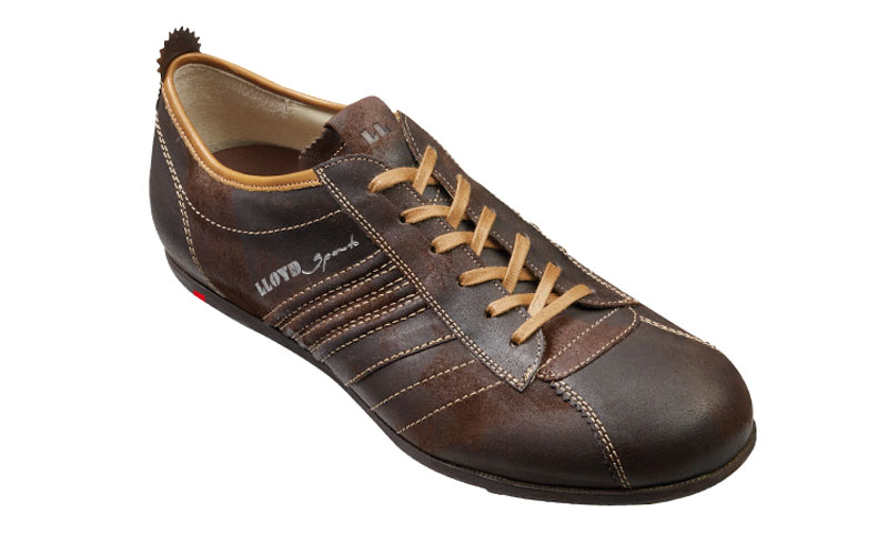 outlet store 4e286 ee2ac Lloyd Arel Soft Suede Sneakers Espresso