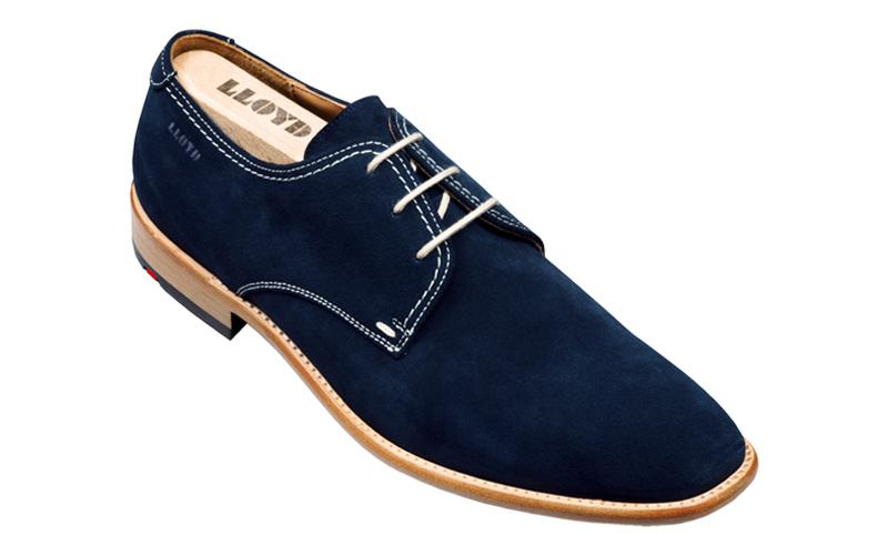 Lloyd Hector Suede Shoes Ocean Image