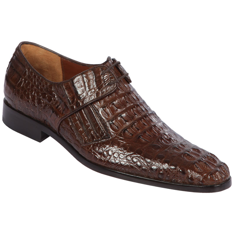 Lombardy Caiman Hornback Dress Shoes Brown Image