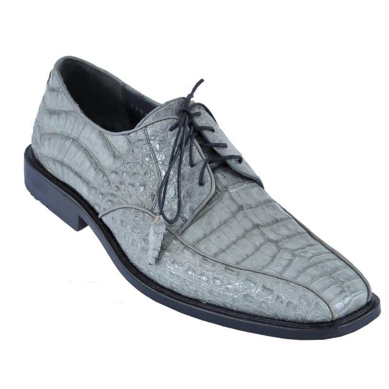 Los Altos Caiman Belly Bicycle Toe Shoes Gray Image