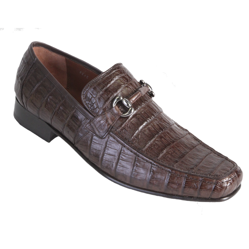 Los Altos Caiman Bit Loafers Brown Image