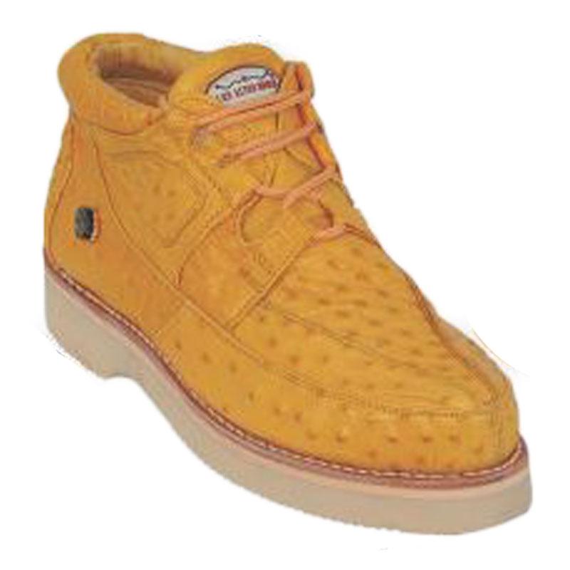Los Altos Ostrich Casual Shoes Buttercup Image