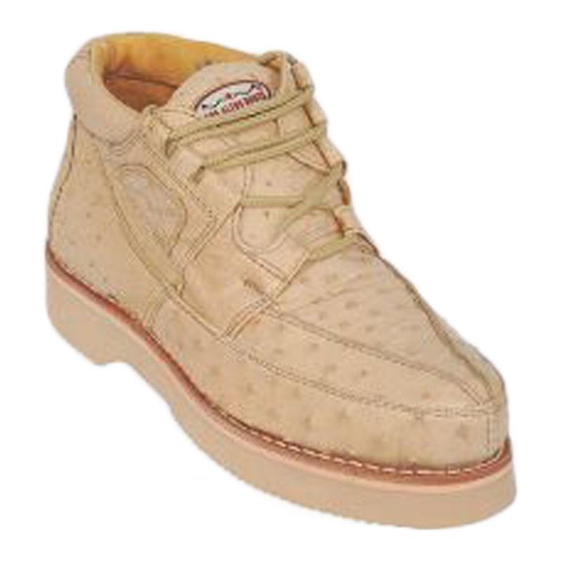 Los Altos Ostrich Casual Shoes Oryx Image