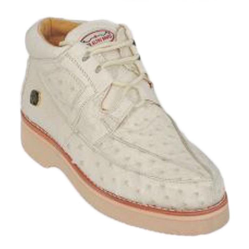 Los Altos Ostrich Casual Shoes Winter White Image