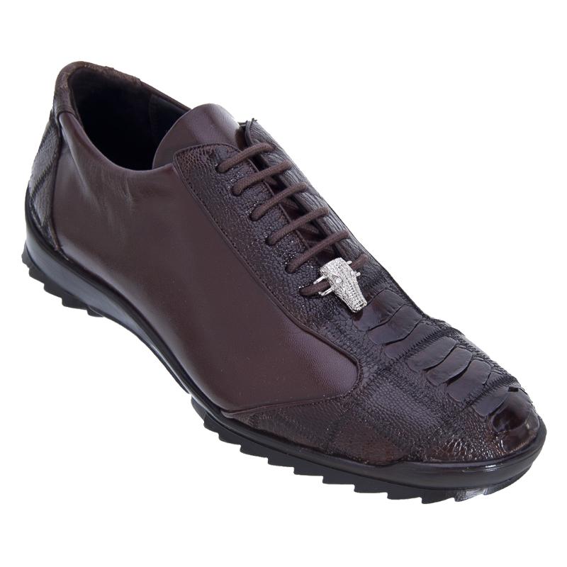 Los Altos Ostrich Sneakers Brown Image