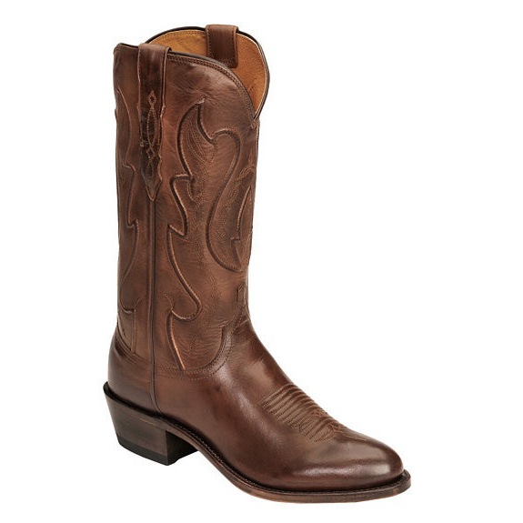 Lucchese M1004.R4 Ranch Hand Leather Boots Tan Image