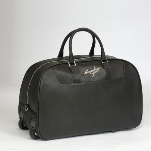 Massimiliano Stanco Boston Trolley Bag Black Image