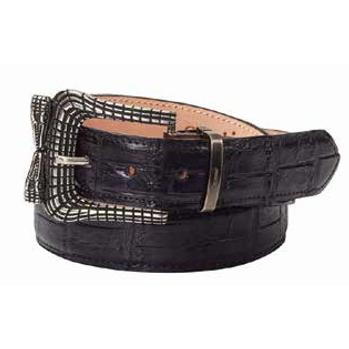 Mauri 100-35 Alligator Belt Black (Special Order) Image