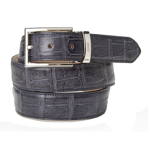 Mauri 100-35 Alligator Belt Medium Gray (Special Order) Image