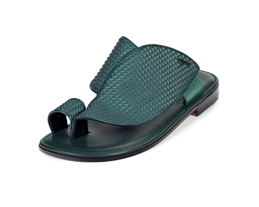 Mauri 1951 Sandals Forest Green (Special Order) Image
