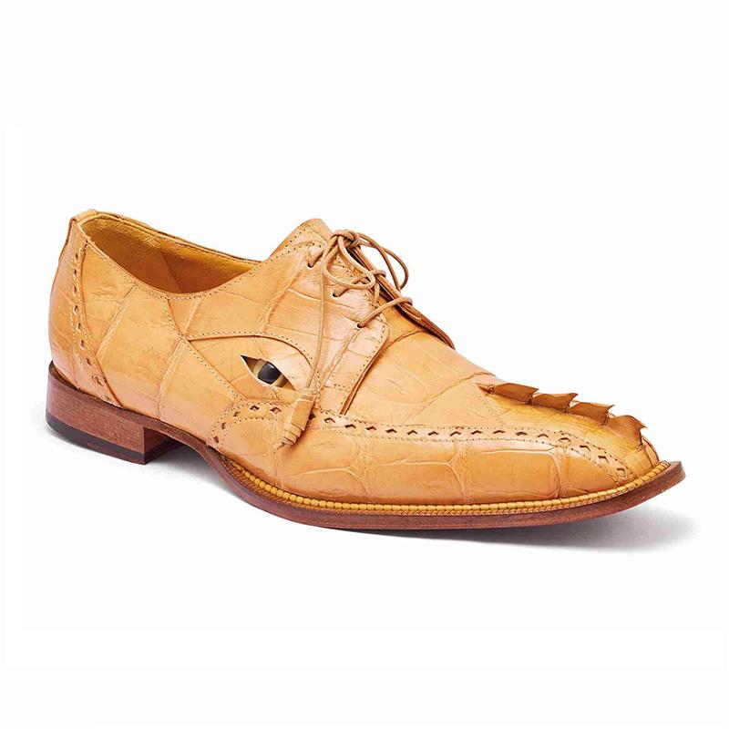 Mauri 3074 Baby Crocodile / Hornback Tail Shoes Dune Image