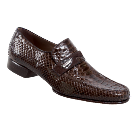 Mauri 3736 Python Strap Loafers Sport Rust (SPECIAL ORDER) Image