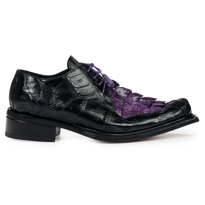 Mauri 44209 Hornback Shoes Black / Violet Image