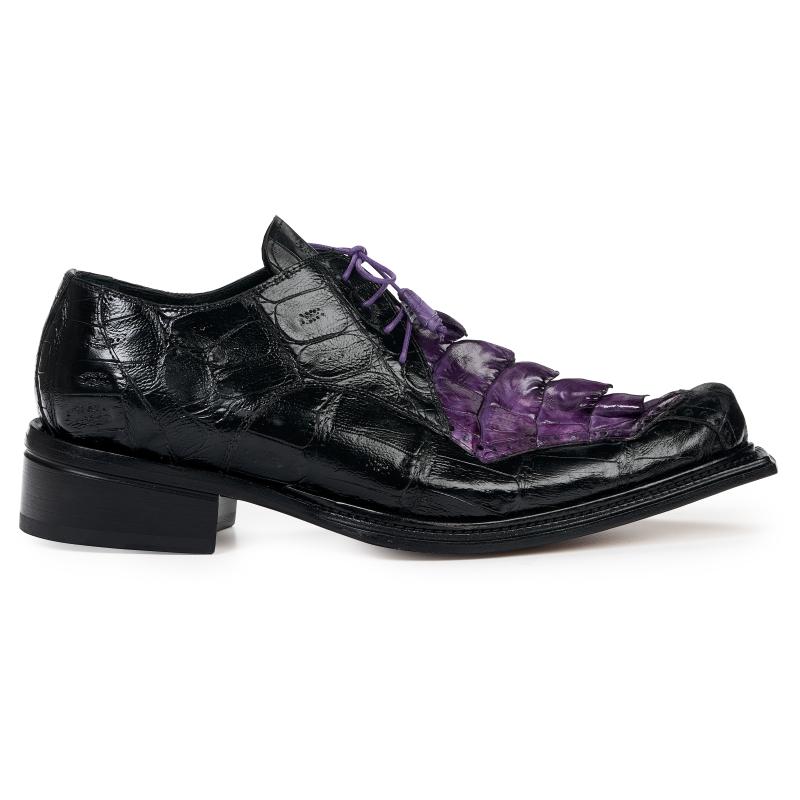 Mauri 44209 Hornback Shoes Black / Violet (Special Order) Image