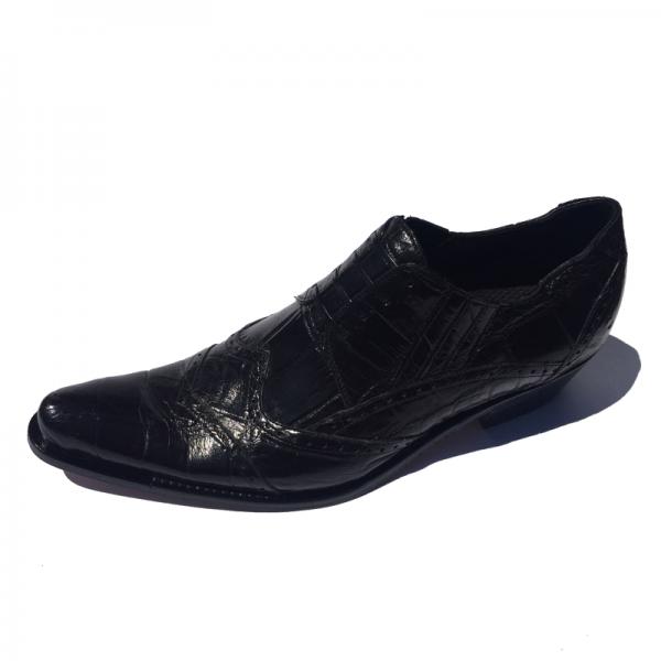 Mauri 44223 Heat Alligator Ankle Boot Black  Image