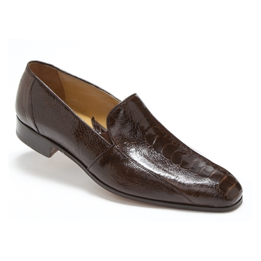 Mauri 4514 Marron Ostrich Leg Loafers Sport Rust (SPECIAL ORDER) Image