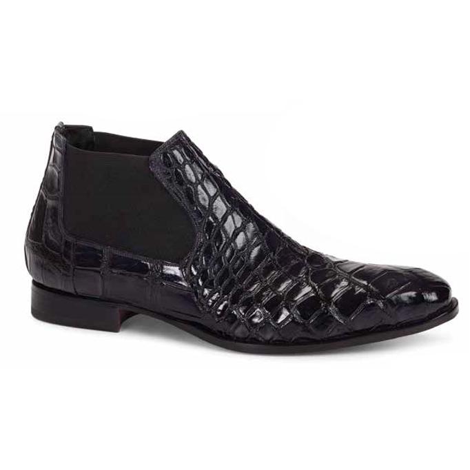 Mauri 4755 Affari Alligator Boots Black (Special Order) Image