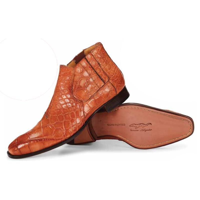 Mauri 4780 Alberti Alligator Boots Cognac (Special Order) Image