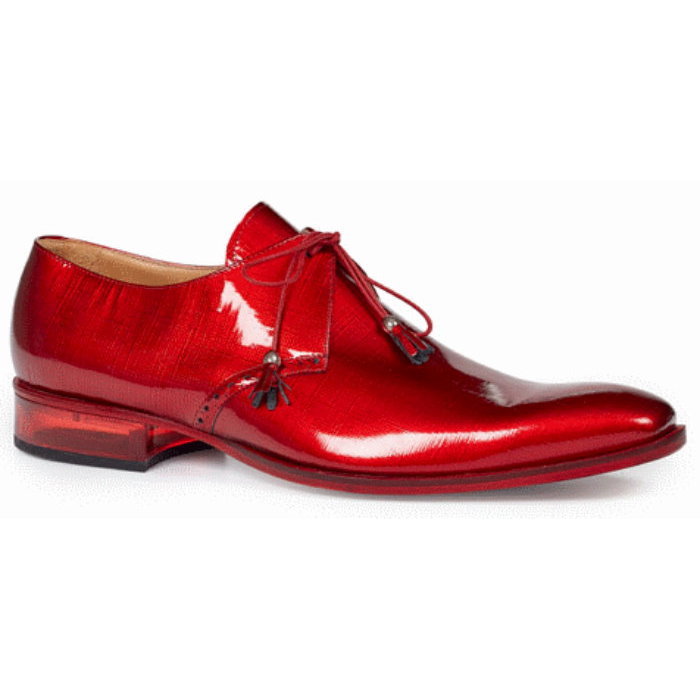 Mauri 4801 Mantegna Patent Leather Shoes Red (Special Order) Image