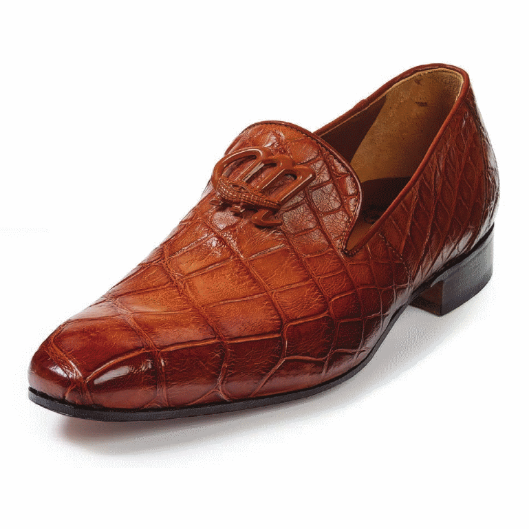Mauri 4821 Vanvitelli Alligator Loafers Gold (Special Order) Image
