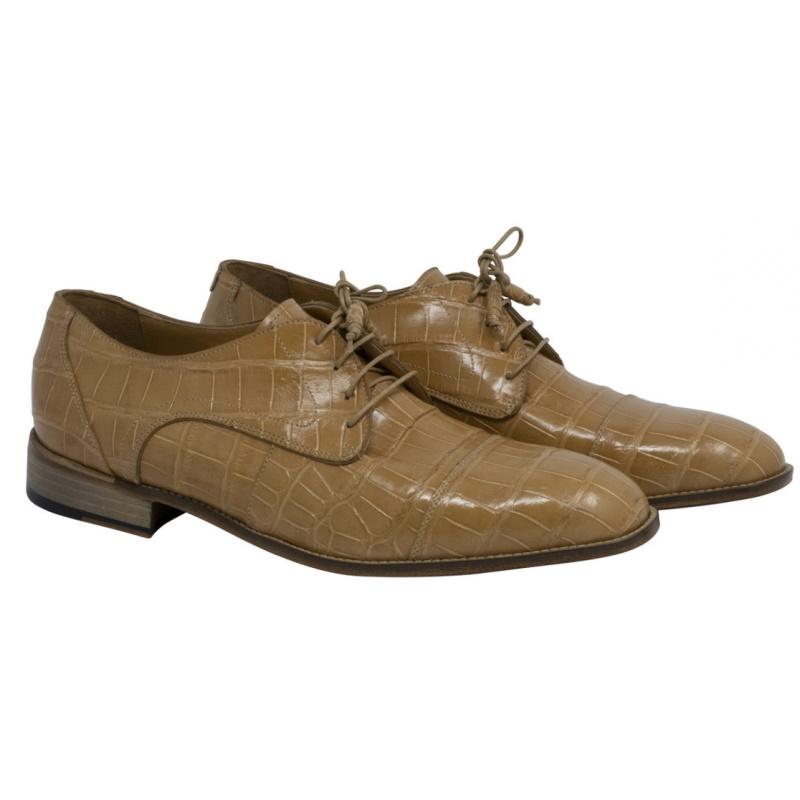 Mauri 4896 Cathedral Alligator Shoes Dune Image