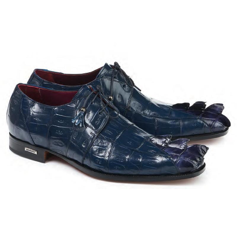Mauri 4910 Predator Hornback & Crocodile Shoes Wonder Blue Image