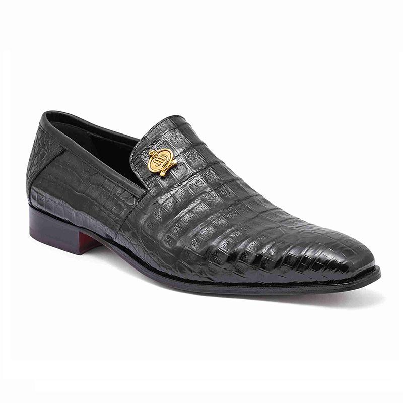 Mauri 4912 Body Alligator Shoes Black (Special Order) Image