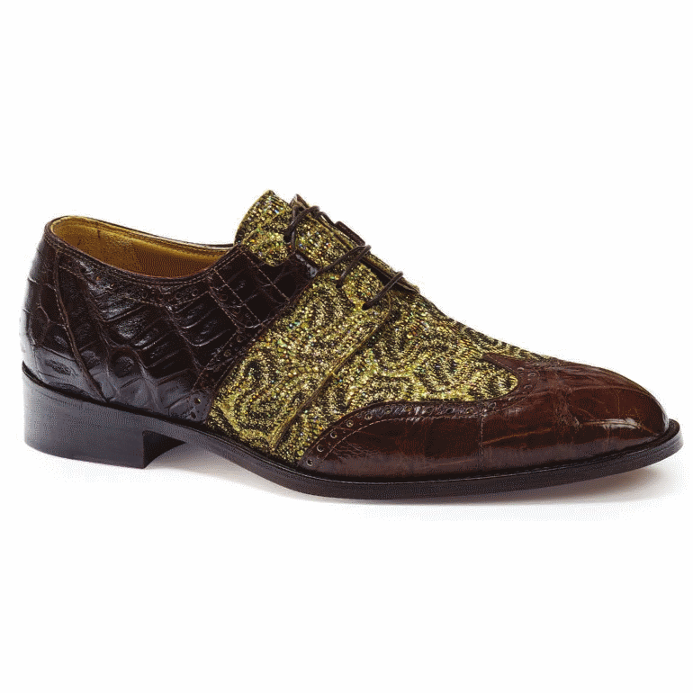 Mauri 53124 Caracalla Crocodile & Alligator Wingtip Sport Rust  Image