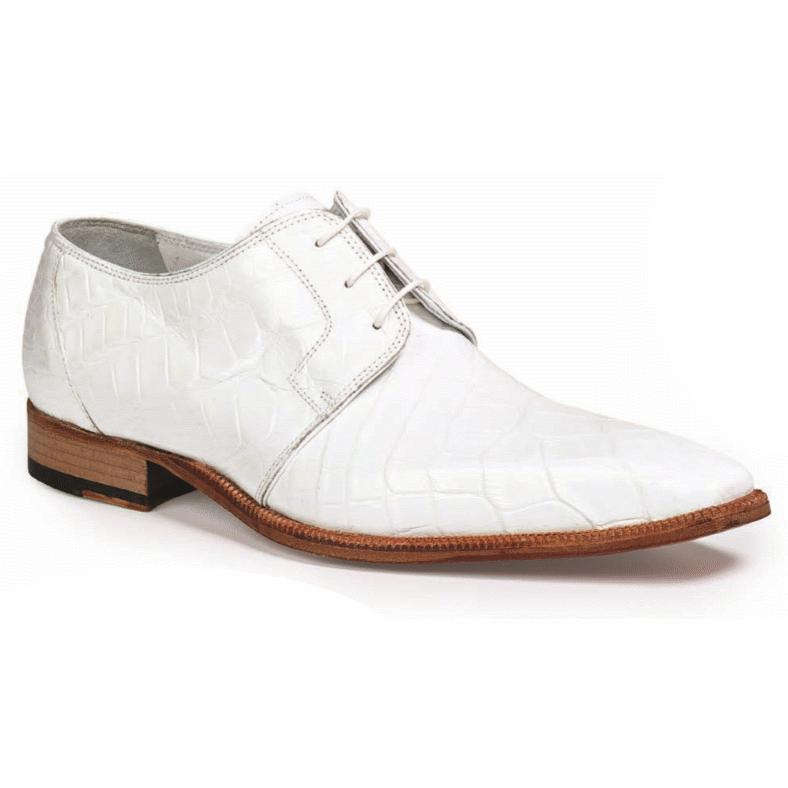 Mauri 53127-2 Guardi Alligator Dress Shoes White (Special Order) Image