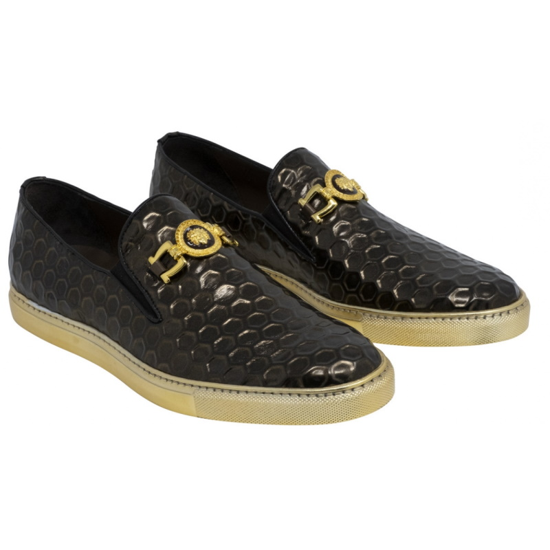 Mauri 8584 Symphony Fabric Loafers Brown Image