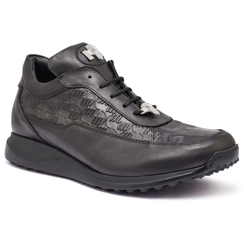 Mauri 8900-2 Classic Crocodile & Calfskin Black Image