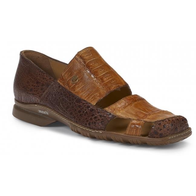 Mauri 9288 Savio Frog & Crocodile Casual Shoes Sport Rust / Chestnut Image