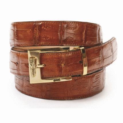 Mauri Baby Crocodile Belt Gold (Special Order) Image