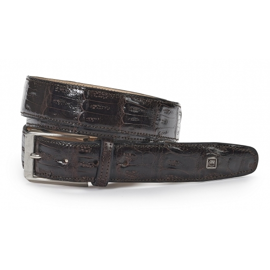 Mauri Baby Crocodile Belt Sport Rust Image