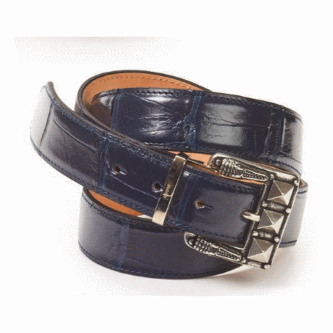 Mauri Body Alligator Belt Wonder Blue (Special Order) Image