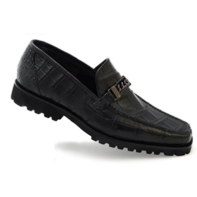 Mauri Certo 3755 Alligator Bit Loafers Black (SPECIAL ORDER) Image