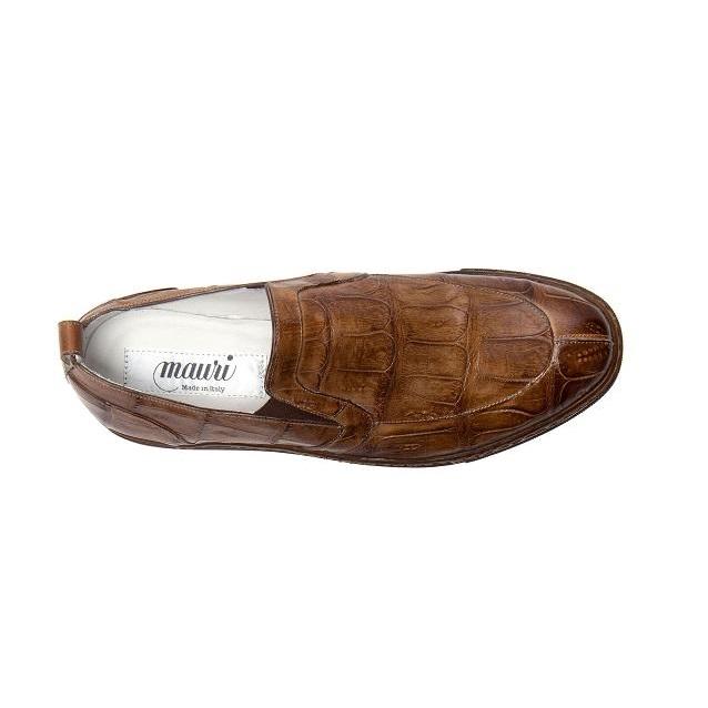 Mauri Corisca 8699 Baby Crocodile Casual Shoes Brandy (Special Order) Image