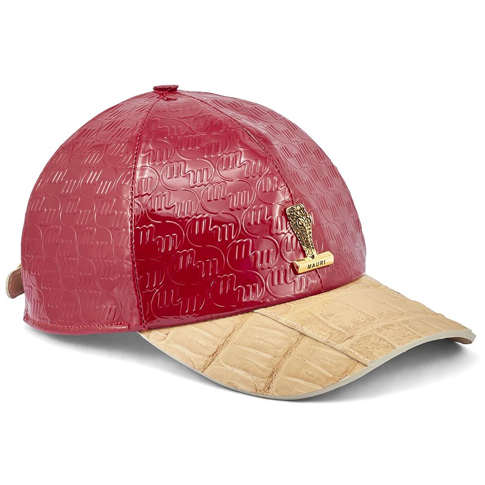 Mauri H65 Baby Croc & Patent Embossed Hat Raspberry / Champagne Image