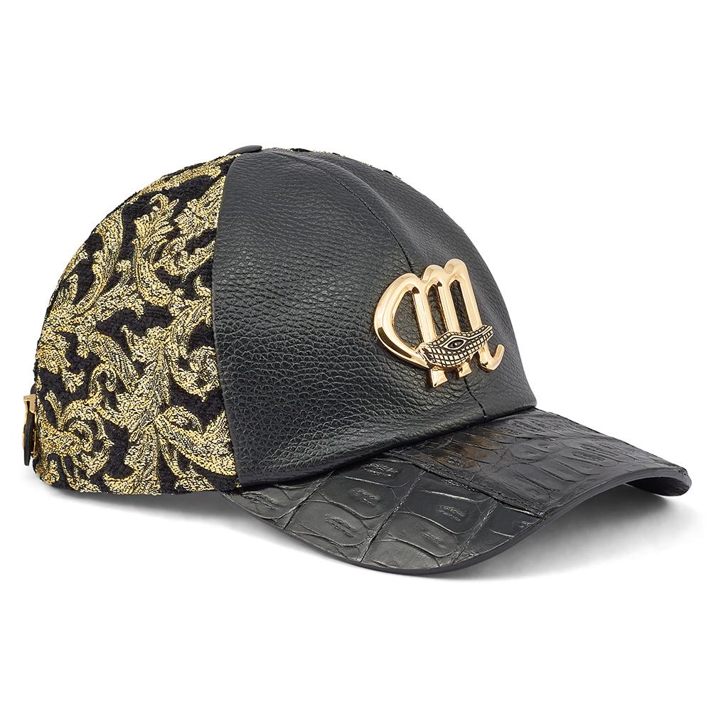 Mauri H65 Croc / Didier Fabric & Time Hat Black / Gold Image