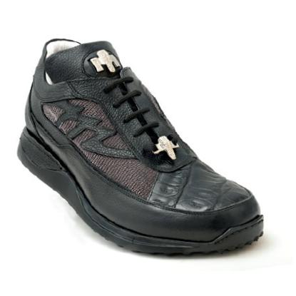 Mauri King II 8555 Crocodile Sneakers Black (Special Order) Image