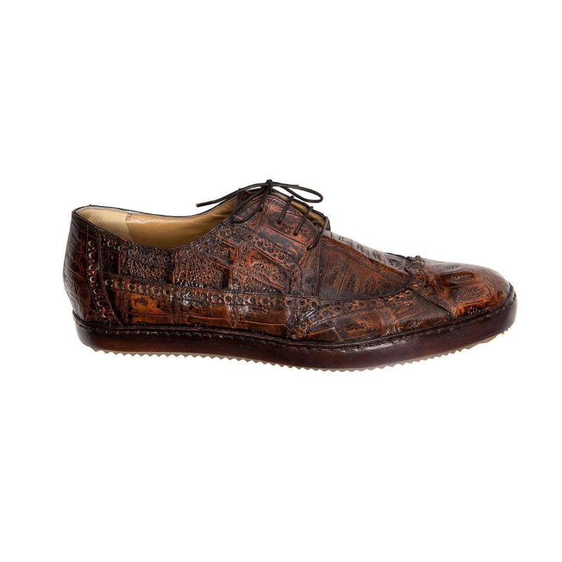 Mauri Nuvola 8518 Crocodile Shoes Golden Camel (Special Order) Image