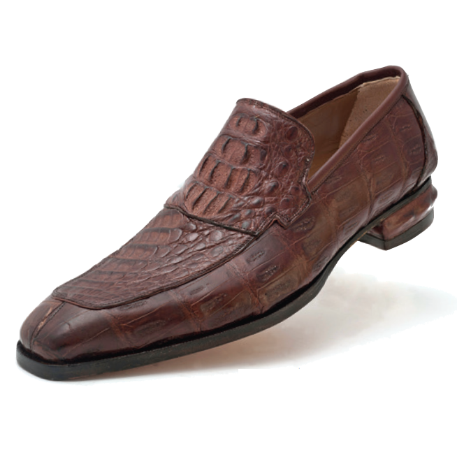 Mauri Romeo 4615 Hornback & Crocodile Loafers Brown (Special Order) Image