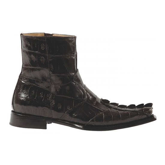 Mauri 44167 Crocodile Boots Brown (Special Order) Image