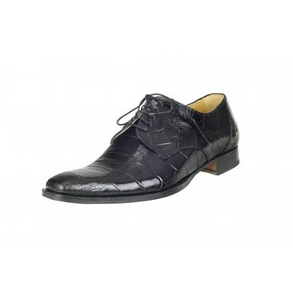 Mauri Falco M508 Alligator Shoes Black (Special Order) Image