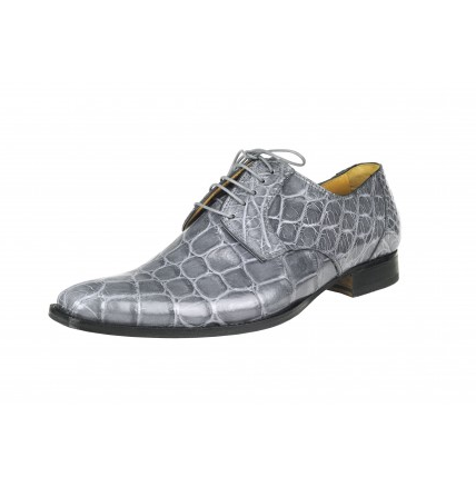 Mauri Falco M508 Alligator Shoes Gray (Special Order) Image